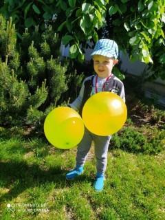 grupa Żabki, Motylki oraz Rybki - Dzień Dziecka 2020